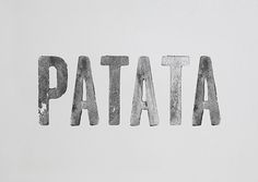 Patata Condensed on Behance