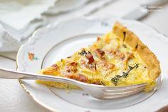 Quiche Lorraine (mit Speck und Zwiebeln) - Madame Cuisine