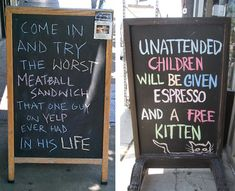 Tastefully Offensive on Tumblr, Funny Sandwich Board Signs Previously: Funny...