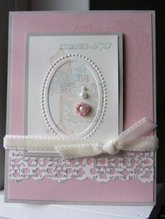 love this ..... soft and pretty card