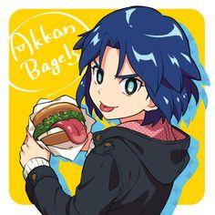 Manga Cute, Inazuma Eleven Go, Fan Art, Cartoon, Deep Blue, Emoji, Anime, Dragon Art, Dragons