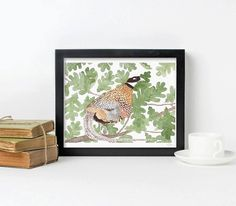 Watercolor Bird, Watercolor Paintings, Artisan & Artist, Kids Decor, Art Market, Etsy Jewelry, Fine Art Paper, Pet Birds, Wall Tapestry