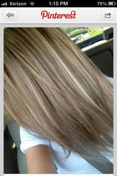 Blonde highlights (: