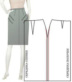 Как исправить дефекты юбки