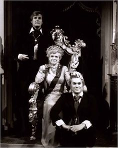 "Roger Moore, Tony Curtis and Gladys Cooper in the episode "" the Ozerov inheritance"" ."
