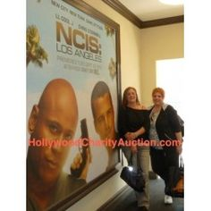 ANOTHER RELIST - NCISLA (NCIS LA) Set Visit - LL Cool J and Chris O'Donnell - Charity Auction