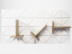 This modular shelving system from Johannes Hertsson and Karl Henrik Rennstarn is easily detachable and requires no fittings - rendering Sunday afternoon DIY sessions quarrel-free.