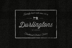 Darlingtons - Part of the Custom Vintage Clothing Labels/Logo set on Creative Market. Get it here http://crtv.mk/bTFk