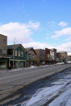 Main Street Ridgway, Pa