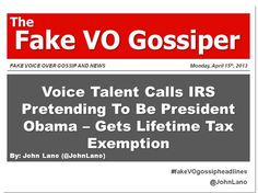 Fake Voice Over Gossip and News Monday, April 2013 April Snow, Dave Chappelle, Thing 1, Morgan Freeman, Voice Actor, Gossip, The Voice, How To Look Better, This Or That Questions