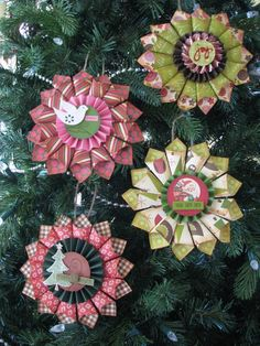holiday medallions