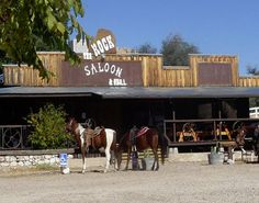 Triangle T Guest Ranch - Dragoon, Arizona -  Enjoy their mesquite-grilled cuisine, dance to live country western music, and see for yourself why their saloon is called The Rock.  (Click on the pin when you're ready for more info, additional Tucson area Guest Ranches and more.)