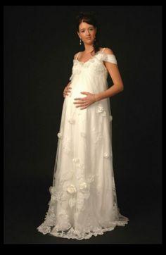 42 Best Plus Size Maternity Wedding Dresses / Pregnancy Attire ...