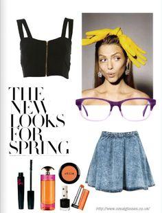 the new looks for spring #eyewear #eyeglasses #womensfashion