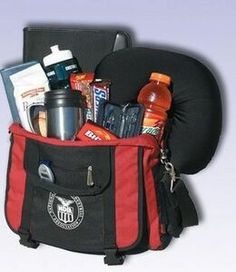 The executive bag with food/ travel kit/ pedometer