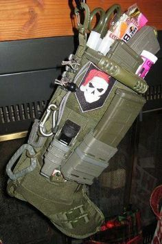 Tactical stocking., I WANT THIS FOR CHRISTMAS!