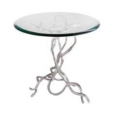 Dimond Home Woven Vines Side Table