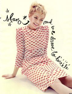 Michelle Williams - Elle UK by Alexei Hay, December 2011