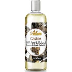 100% Pure Castor Oil (Huge 16 OZ BOTTLE) Premium Therapeutic Grade Natural Castor Oil - Skin