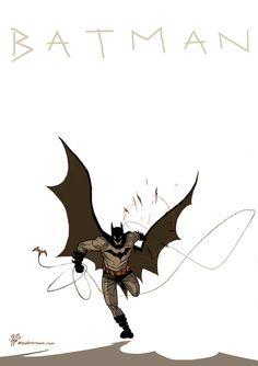 Batman /// by TheWoodenKing.deviantart.com