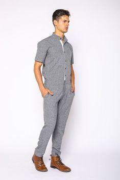 35b809dcf857 Greyhound Jumpsuit. RompersMens FashionJumpsuitsMen s StyleMen Wear OverallsMale ...