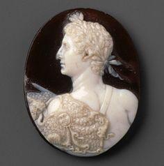 Cameo portrait of the emperor Augustus [Roman] (42.11.30) | Heilbrunn Timeline of Art History | The Metropolitan Museum of Art