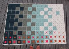 Lutter Idyl. I like the decreasing center colours in the squares