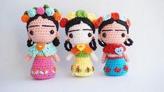 Canal crochet en Youtube. Cute Crochet, Crochet Crafts, Crochet Projects, Knit Crochet, Crochet Ideas, Crochet Doll Pattern, Crochet Patterns Amigurumi, Amigurumi Doll, Knitted Dolls