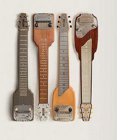 Fender lap steel guitars