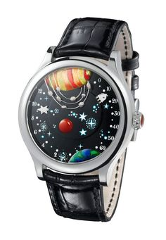 From The Earth To The Moon Watch By Van Cleef  Arpels