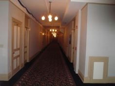 One of the Hallways of the Belleview Biltmore Hotel. Bellaire, FL. The Belleview Biltmore Resort and Spa was a historic resort hotel in Belleair, Florida. Built in 1897, the 400,000 sq feet structure was the last remaining grand historic hotel of its period in Florida that existed as a resort. It was demolished in 2015