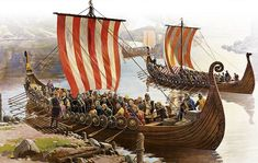 hedeby merchants - vikings