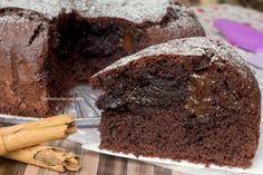 Torta Cioccolato e Cannella cremosa