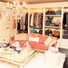 habitacion sofa diseno moderno vestidor ideas