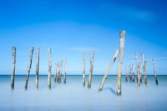 Poles - Wissant, France by Bart Heirweg