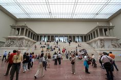 Pergamon+Altar+@+Pergamon+Museum+-+Berlin,+Germany