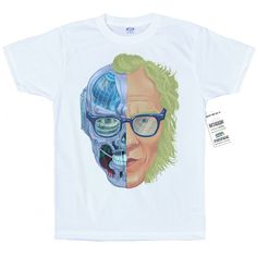 Isaac Asimov T shirt Artwork