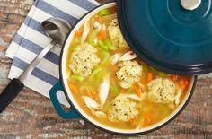 Chicken Soup with Herbed Dumplings
