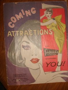 Vintage 1961 frederick's of Hollywood GLAMOUR Clothing Catalog - 35 pages, FALL FASHION - Issue 62 vol 26 ~ 1960s Fashion Catalog by PastPossessionsOnly on Etsy