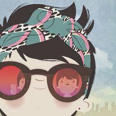 glasses.quenalbertini: 'Lubi' Luiza Bione, Pinzellades al món