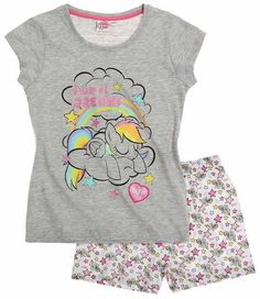 Girls My Little Pony Rainbow Dash Short Sleeve Pyjamas