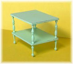 diy miniature end table