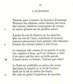L'Albatros - Charles Baudelaire