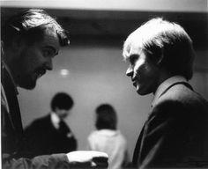 Giorgio Gomelsky and Brian Jones