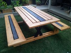 Diy Foldable Picnic Table Diy Foldable Picnic Table Related posts: Trendy Diy Table Foldable Mesas 10 x Blank DIY Foldable Glossy Handbag Table Event Party Wedding Dinning Ideas diy table foldable how to build Diy table foldable work benches 36 ideas Folding Picnic Table Bench, Foldable Picnic Table, Diy Picnic Table, Wooden Picnic Tables, Outdoor Picnic Tables, Deck Table, Pallet Dining Table, Rustic Outdoor, Garden Table