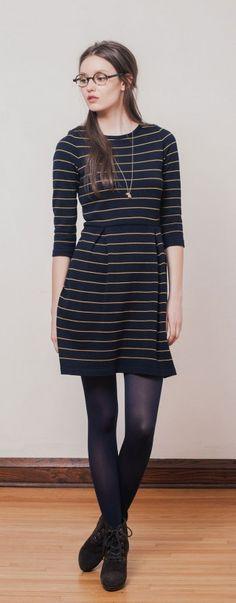 Cette robe Betina Lou serait parfaite dans ma garde-robe d'automne