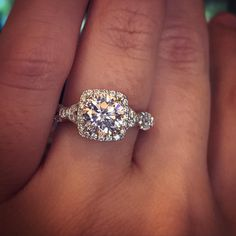 Verragio Diamond Engagement Ring Mounting apart of their Parisian collection