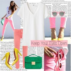 Keep your eyes open, created by ibelieveinyou on Polyvore