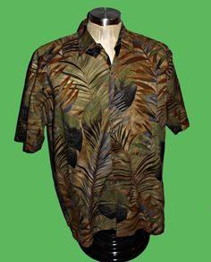 52984dbb This is a silk Tori Richards - an expensive label as Aloha Shirts go. The