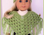 Crochet American Girl clothes.